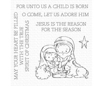 My Favorite Things Away in a Manger Clear Stamps (RAM-024)