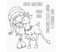 My Favorite Things Jingle Hugs Clear Stamps (TI-010)