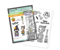 Polkadoodles Happy Howl-oween Clear Stamps (PD8159)