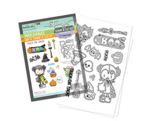 Polkadoodles Scary Boo Clear Stamps (PD8161)