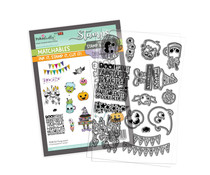 Polkadoodles Fang-tastic Clear Stamps (PD8163)