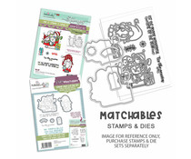 Polkadoodles Gnome Tis the Season Clear Stamps (PD8177)