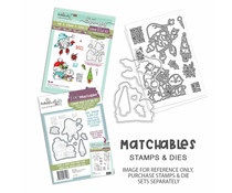 Polkadoodles Gnome Let it Snow Clear Stamps (PD8179)