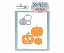 Polkadoodles Spooky Pumpkins Dies (PD8202)