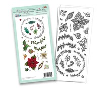 Polkadoodles Wonderful Christmas Clear Stamps (PD8204)