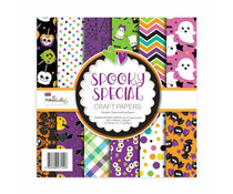Polkadoodles Spooky Special 6x6 Inch Paper Pack (PD8208)