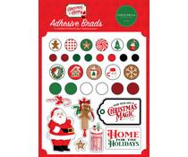 Carta Bella Christmas Cheer Adhesive Brads (CBCHR141020)
