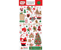 Carta Bella Christmas Cheer 6x13 Inch Chipboard Accents (CBCHR141021)