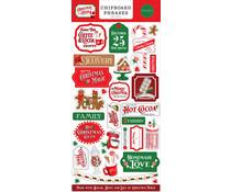 Carta Bella Christmas Cheer 6x13 Inch Chipboard Phrases (CBCHR141022)