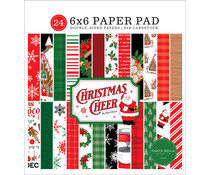 Carta Bella Christmas Cheer 6x6 Inch Paper Pad (CBCHR141023)