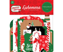 Carta Bella Christmas Cheer Ephemera (CBCHR141024)