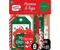 Carta Bella Christmas Cheer Frames & Tags (CBCHR141025)
