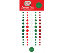 Carta Bella Christmas Cheer Enamel Dots (CBCHR141028)