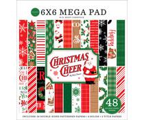 Carta Bella Christmas Cheer Cardmakers 6x6 Inch Mega Pad (CBCHR141031)