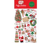 Carta Bella Christmas Cheer Puffy Stickers (CBCHR141066)
