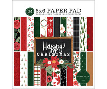 Carta Bella Happy Christmas 6x6 Inch Paper Pad (CBXM140023)