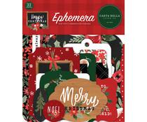 Carta Bella Happy Christmas Ephemera (CBXM140024)