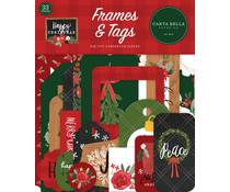 Carta Bella Happy Christmas Frames & Tags (CBXM140025)