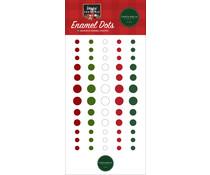 Carta Bella Happy Christmas Enamel Dots (CBXM140028)