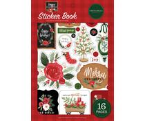 Carta Bella Happy Christmas Sticker Book (CBXM140029)