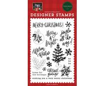 Carta Bella Jingle All The Way Clear Stamps (CBXM140044)
