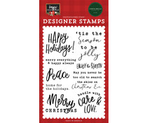 Carta Bella Enjoy The Season Clear Stamps (CBXM140045)