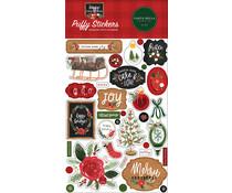 Carta Bella Happy Christmas Puffy Stickers (CBXM140066)