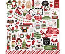 Echo Park Christmas Magic 12x12 Inch Element Sticker (CM254014)