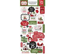 Echo Park Christmas Magic 6x13 Inch Chipboard Phrases (CM254022)