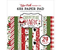 Echo Park Christmas Magic 6x6 Inch Paper Pad (CM254023)