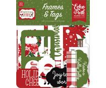 Echo Park Christmas Magic Frames & Tags (CM254025)