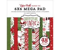 Echo Park Christmas Magic Cardmakers 6x6 Inch Mega Pad (CM254031)