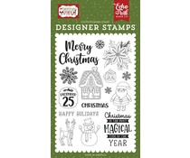 Echo Park Magical Christmas Clear Stamps (CM254042)