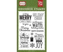 Echo Park Warm Holiday Wishes Clear Stamps (CM254043)
