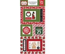 Echo Park Christmas Magic 6x13 Inch Chipboard Frames (CM254065)