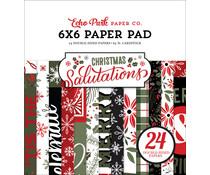 Echo Park Salutations Christmas 6x6 Inch Paper Pad (SAC255023)