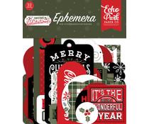 Echo Park Salutations Christmas Ephemera (SAC255024)