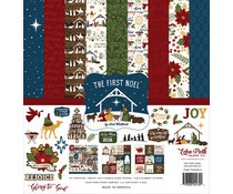Echo Park The First Noel 12x12 Inch Collection Kit (TFN256016)