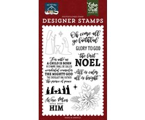 Echo Park The First Noel Clear Stamps (TFN256043)