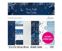 Craft Smith Starry Night 12x12 Inch Paper Pad (MSE7481)