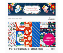 Craft Smith Peace on Earth 12x12 Inch Paper Pad (MSE7482)