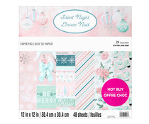 Craft Smith Silent Night 12x12 Inch Paper Pad (MSE7485)