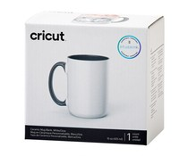 Cricut Beveled Ceramic Mug White/Grey 440ml (1pcs) (2009330)
