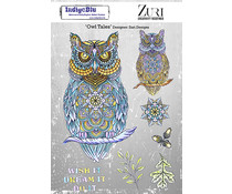 IndigoBlu Owl Tales A5 Rubber Stamps (IND0849)