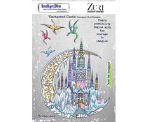 IndigoBlu Enchanted Castle A5 Rubber Stamps (IND0850)