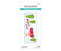 Spellbinders Striped Slimline Embossing Folder (SES-022)