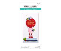 Spellbinders Diagonal Stripes Slimline Embossing Folder (SES-024)