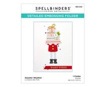 Spellbinders Sweater Weather Embossing Folder (SES-025)