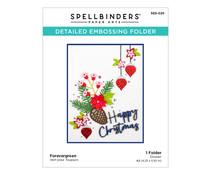 Spellbinders Forevergreen Embossing Folder (SES-026)