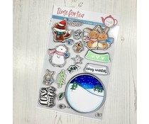 Time For Tea Cosy Winter A5 Clear Stamps (T4T/545/Cos/Cle)